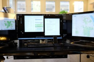 Privatdetektiv Arbeitsstation Überwachung