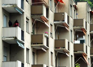 Balkon Überwachung